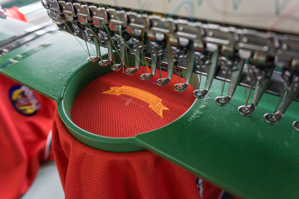 Apparel Embroidery