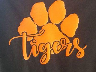 Black Aztec Tigers Shirt