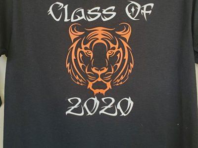 Class Of 2020 Black Shirt