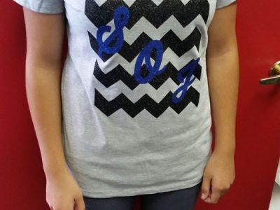Gray Pattern Shirt