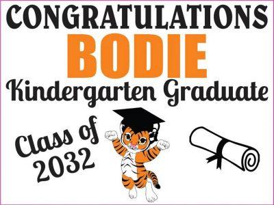 Kindergarten Grad Graphic